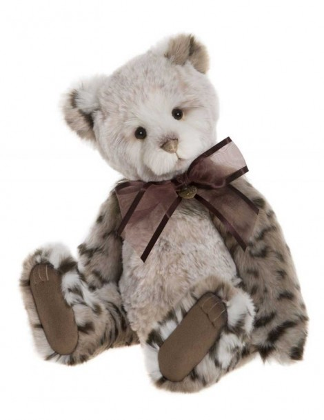 Ours panthère Geneviève 45 cm Charlie Bears -