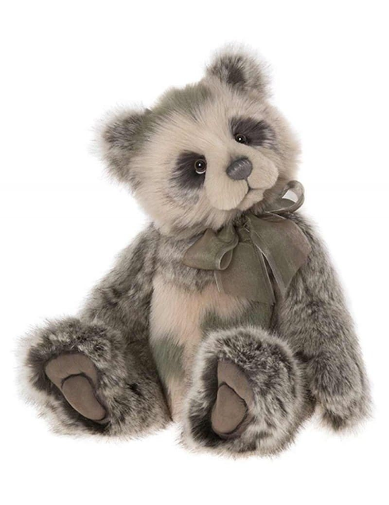 Peluche Panda de Collection Ozzie 55 cm Charlie Bears -