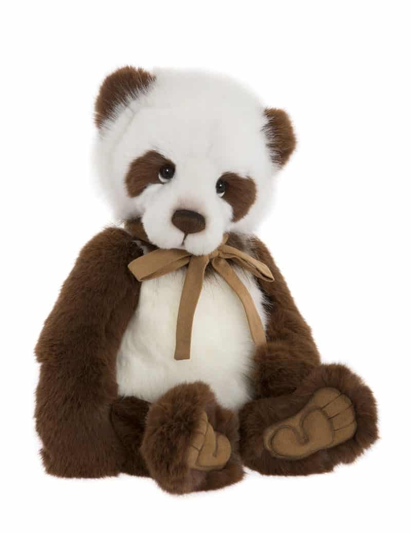 Panda en Peluche de Collection Karl 44 cm Charlie Bears -