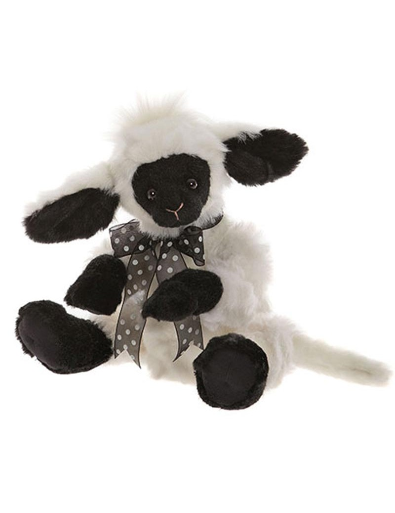 Agneau en peluche April Charlie Bears 33 cm -